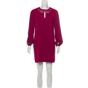 Diane von Furstenberg Raspberry Dress Sz 2